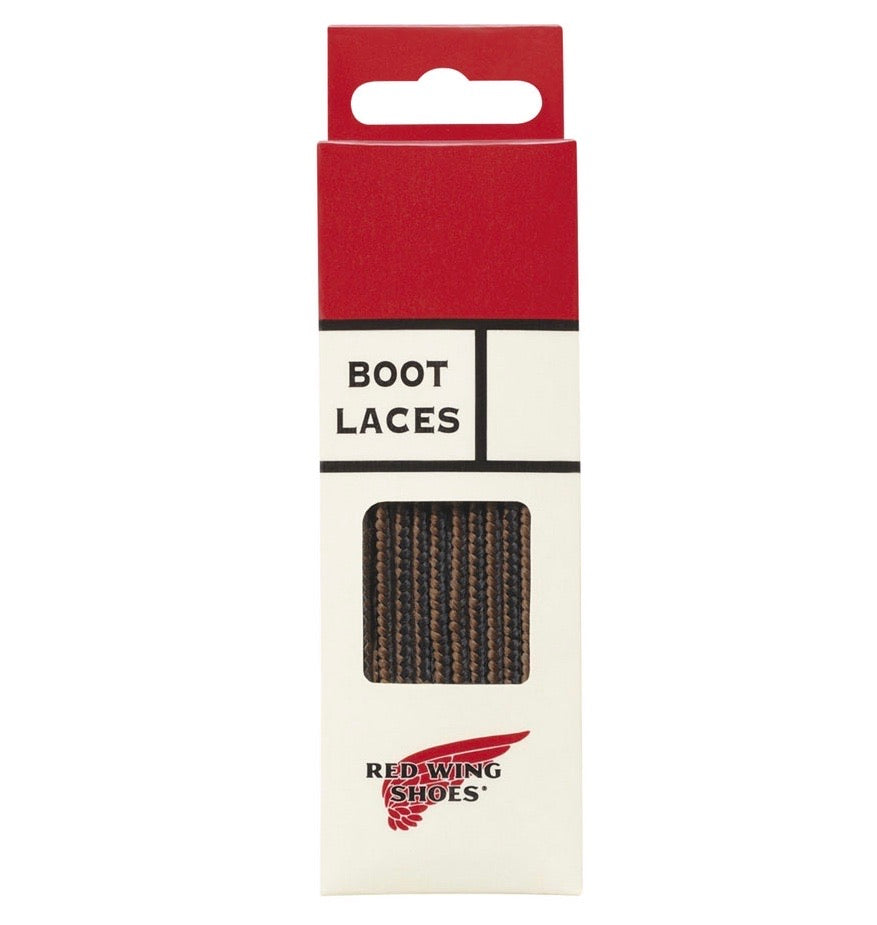 Red Wing - Lace, 48-inch Black/Brown Taslan