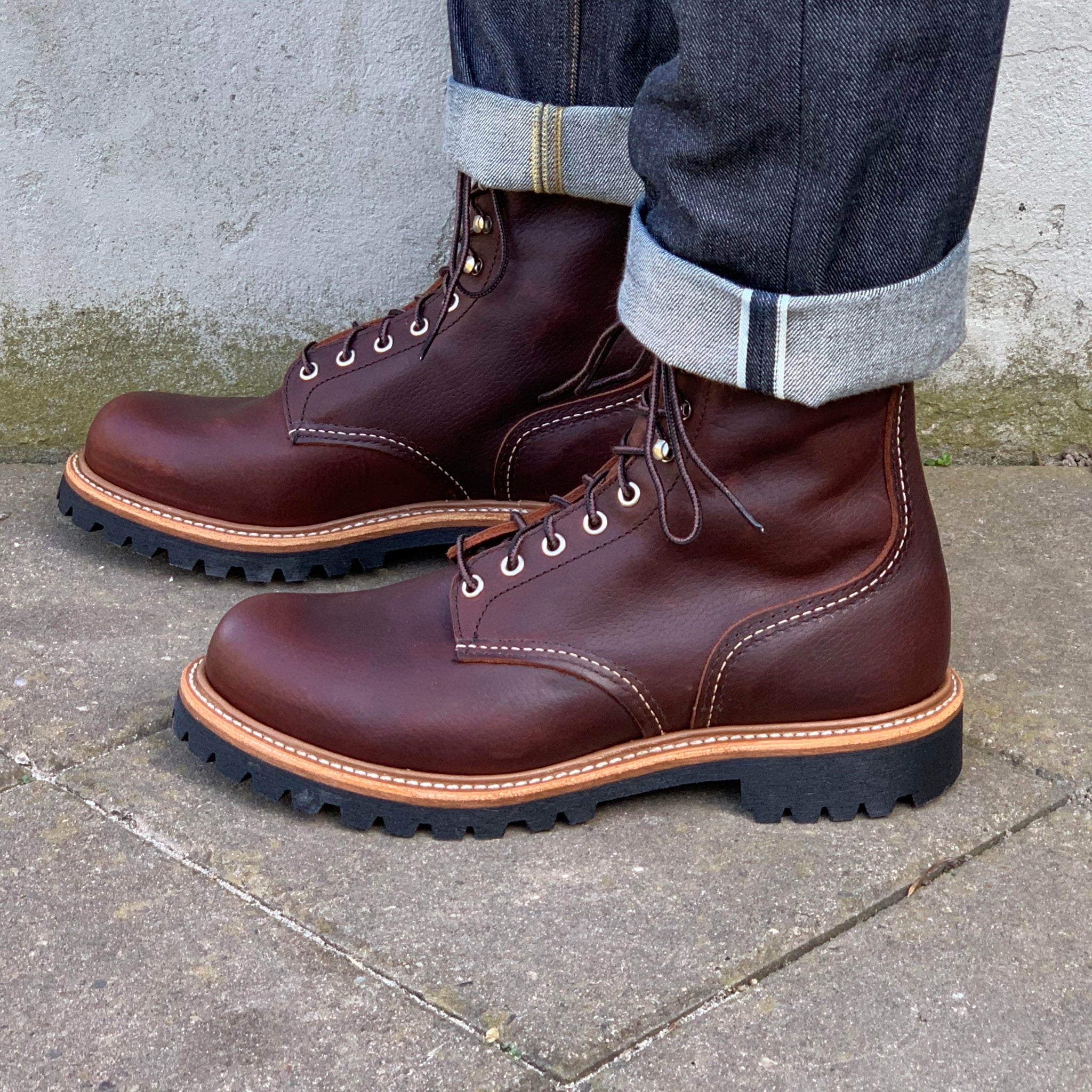 Red Wing - 4585 - Logger (Briar Oil