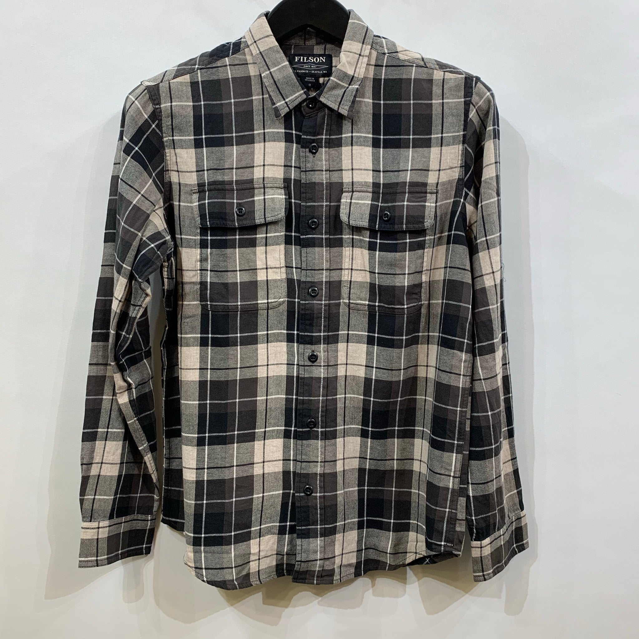 Filson - Scout Olive plaid checked shirt