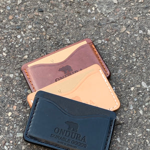 Ondura - Card Case Brown