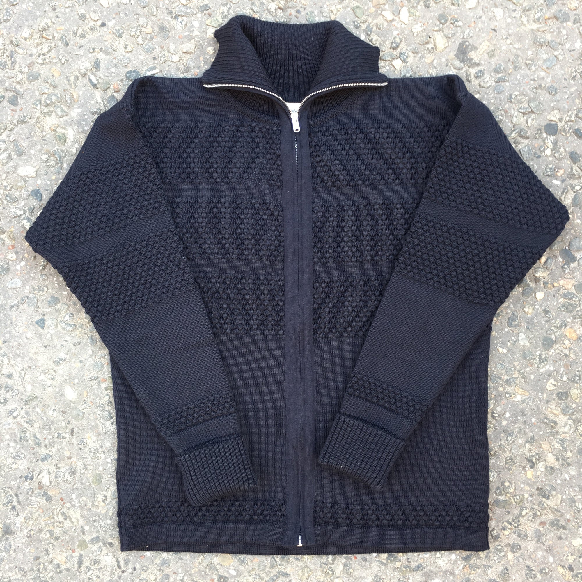 SNS - Fisherman Full zip (Navy blue)