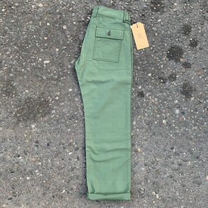 Japan Blue - Fatique Baker Pant Olive