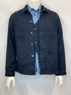 Japan Blue - Indigo Sashiko Cover All Jacket