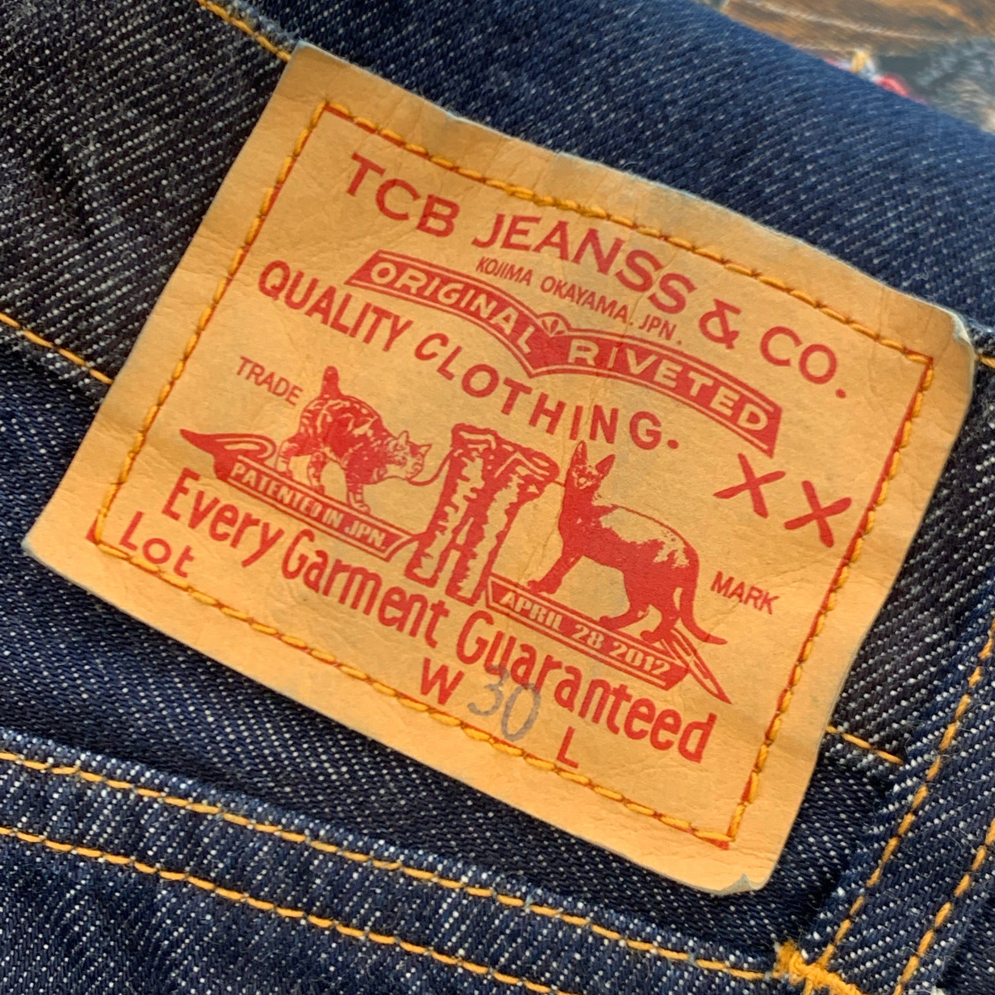 TCB - Type 505 Jeans
