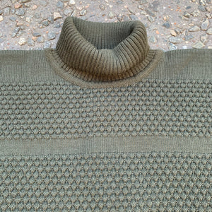 SNS - Fisherman Sweater (Bronze Green)