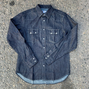Tellason - Shirt, Ranger Denim, ''raw''