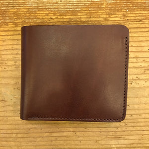 RINOUMA - Bifold Wallet Steer Hide Leather