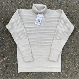 SNS - Fisherman Sweater (grey white)