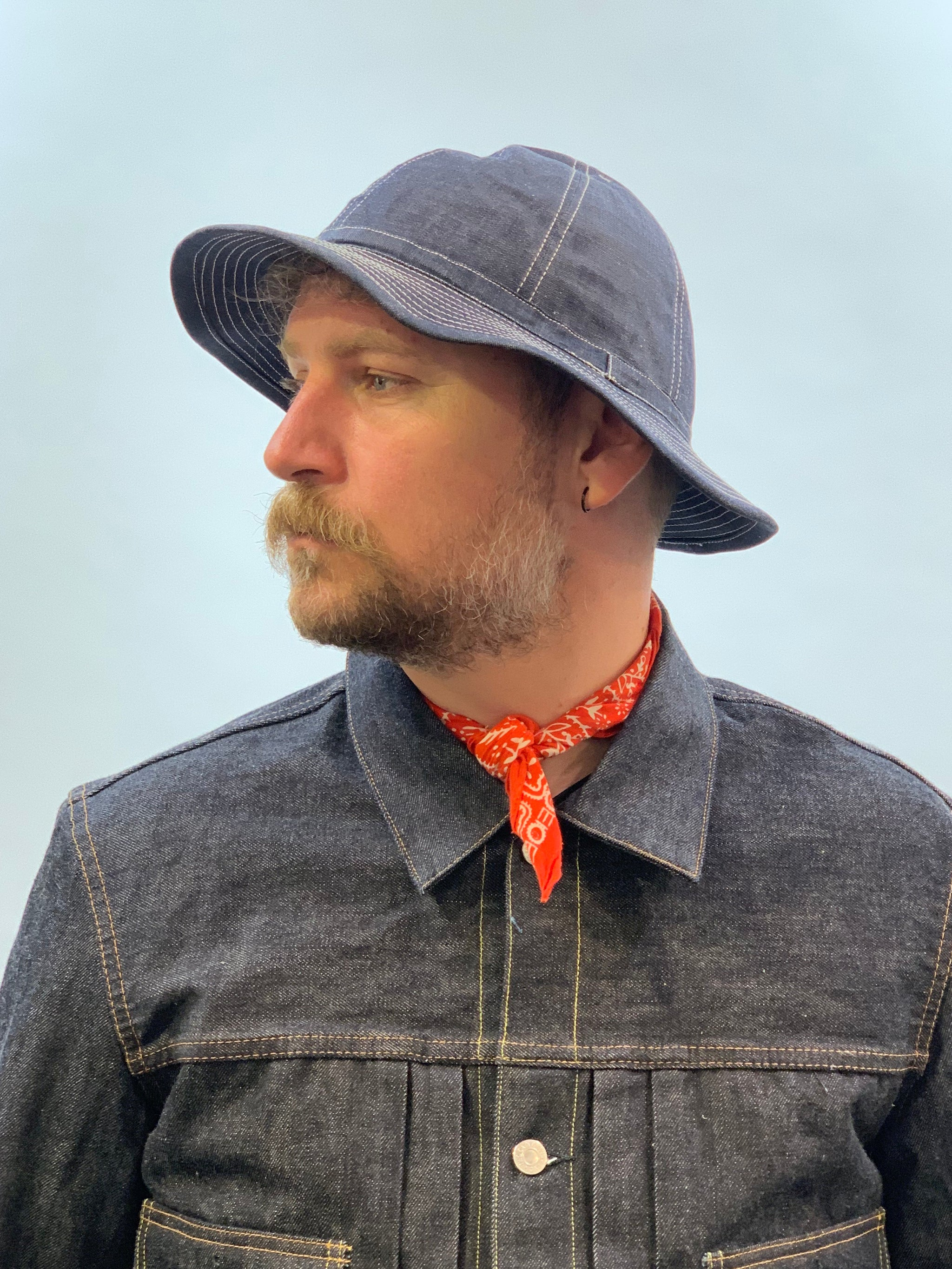 TCB - 30'ies Denim Hat