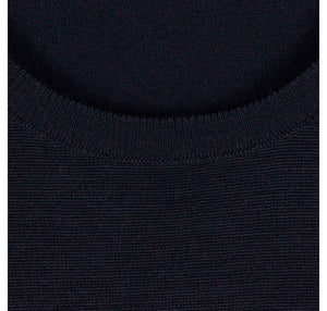 John Smedley - Lundy, Crew-neck, Midnight - Brund - 3
