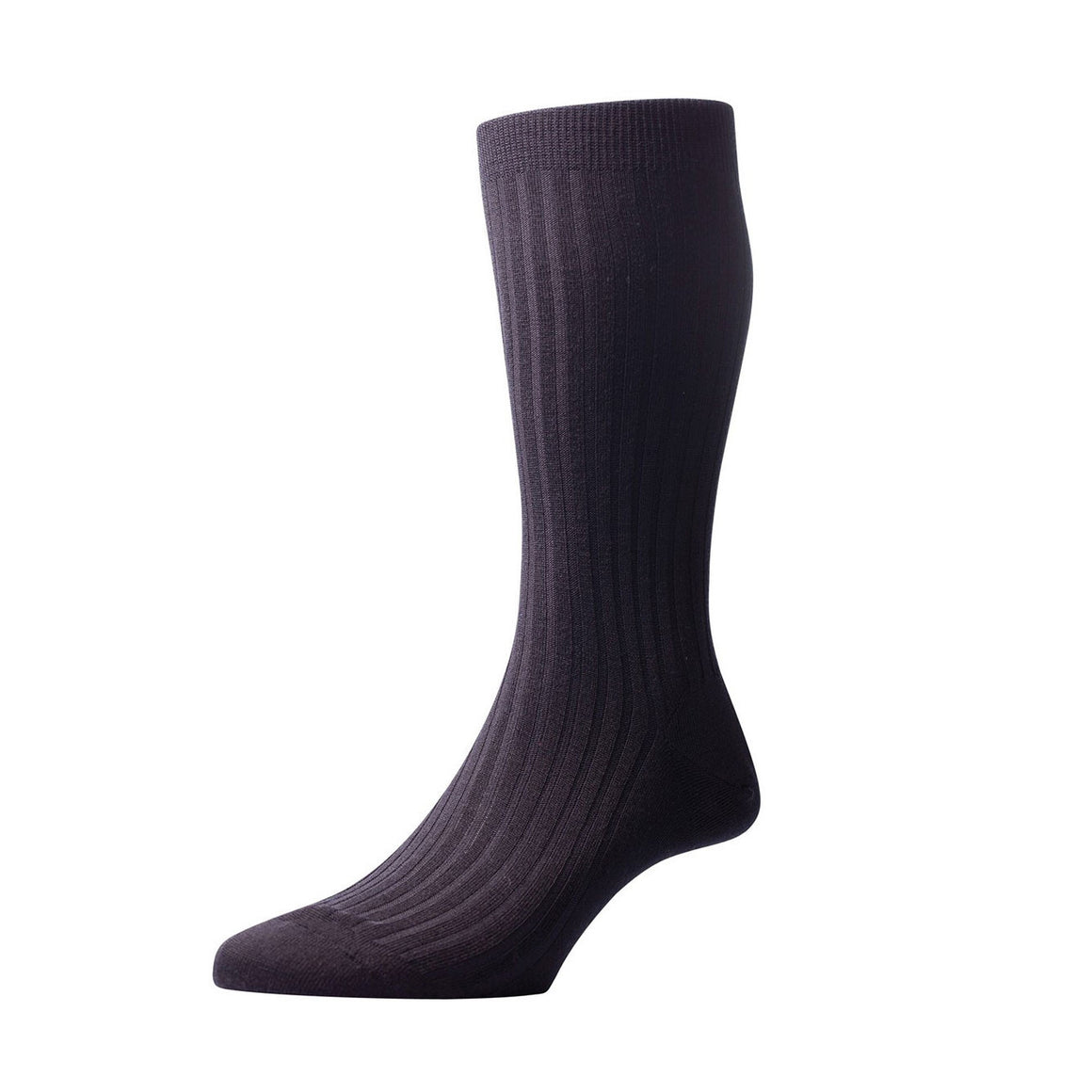 Pantherella - Laburnum wool (Black) - Brund