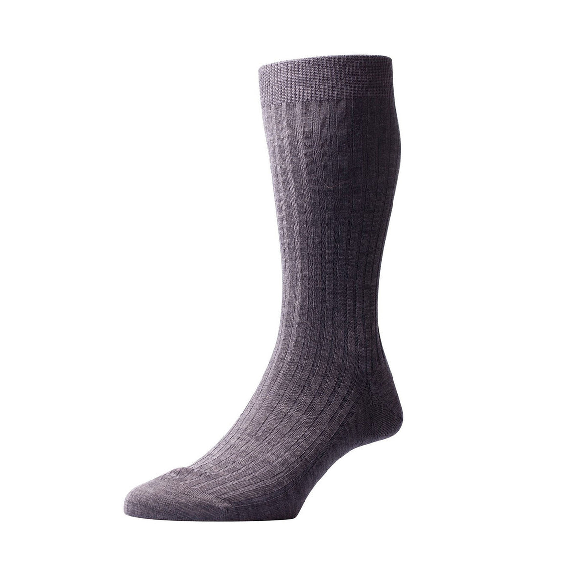 Pantherella - Laburnum wool (Charcoal) - Brund