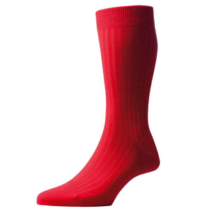 Pantherella - Laburnum wool (Indies Red) - Brund - 3