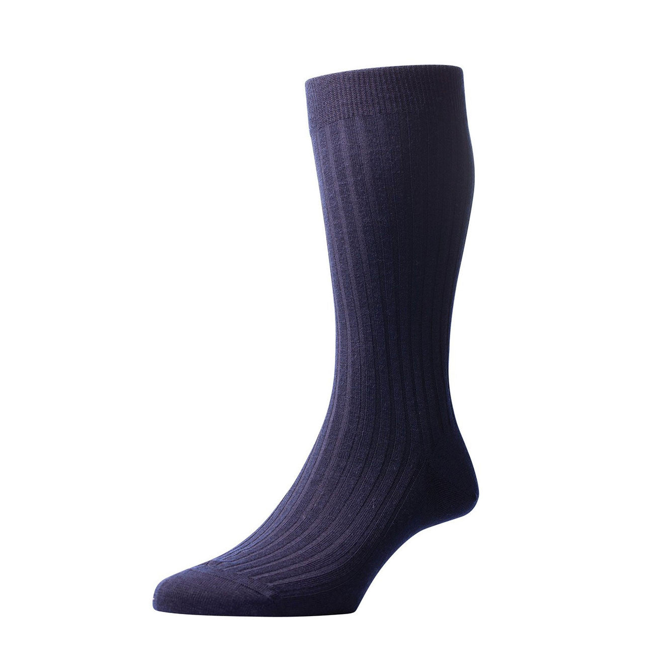 Pantherella - Navy Laburnum wool - Brund