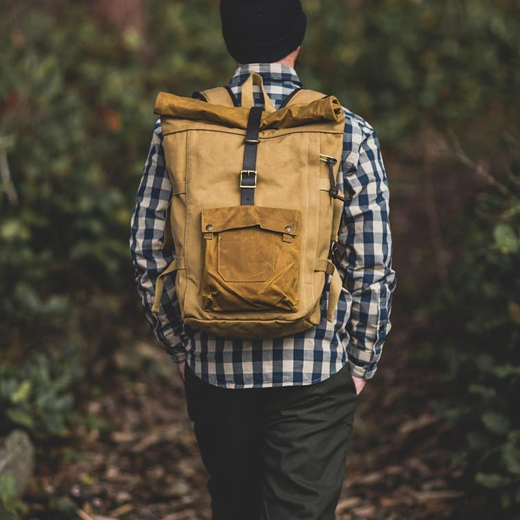 Filson - Rolltop Backpack Tan