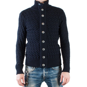 S.N.S. Herning Stark Cardigan (Navy blue) - Brund - 1