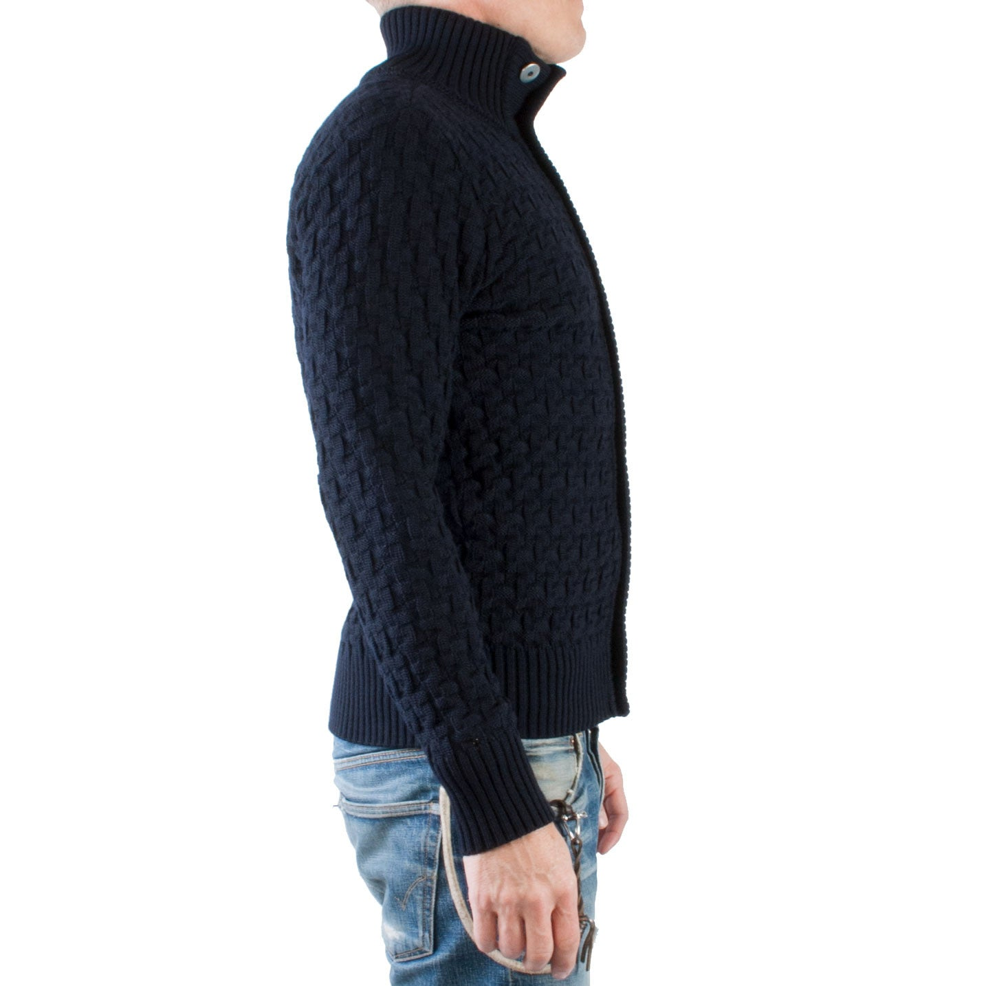 S.N.S. Herning Stark Cardigan (Navy blue) - Brund - 3