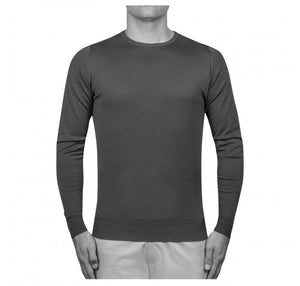 John Smedley - Lundy, Crew-neck, Midnight - Brund - 4