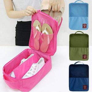 Travel Shoe Pouch Pink