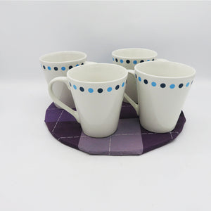 Dots Design 4 Mugs - PreLoved -Home Declutter