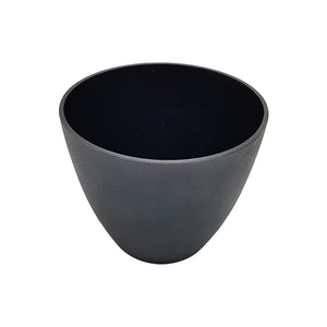 Black Planter/Vase - 16cm Height