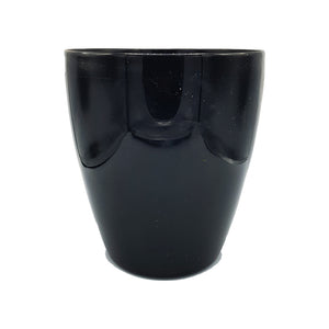 Black Smooth Floor Planter/Vase - 25cm Height