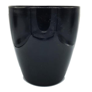 Black Smooth Floor Planter/Vase - 29cm Height