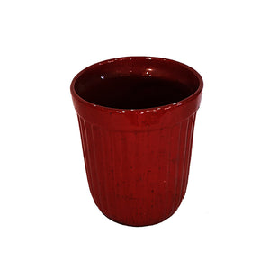 Reddish-Brown Ceramic Vase