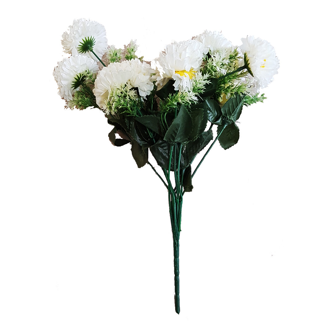 Carnations White Flower Bunch Red Acacias Again Bargain Store