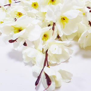 Bunch of Cherry Blossoms - White