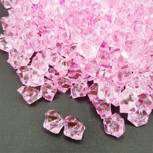 Acrylic Crystals, Glass, Stones - Pink - Vase Fillers - Home Decor