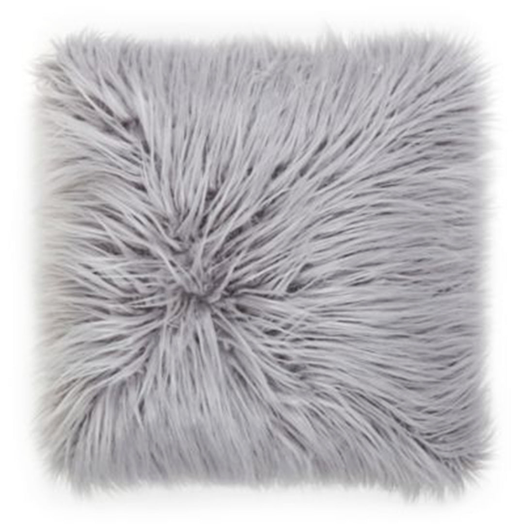 products faux pillow throw mongolian fur pinterest pin keller