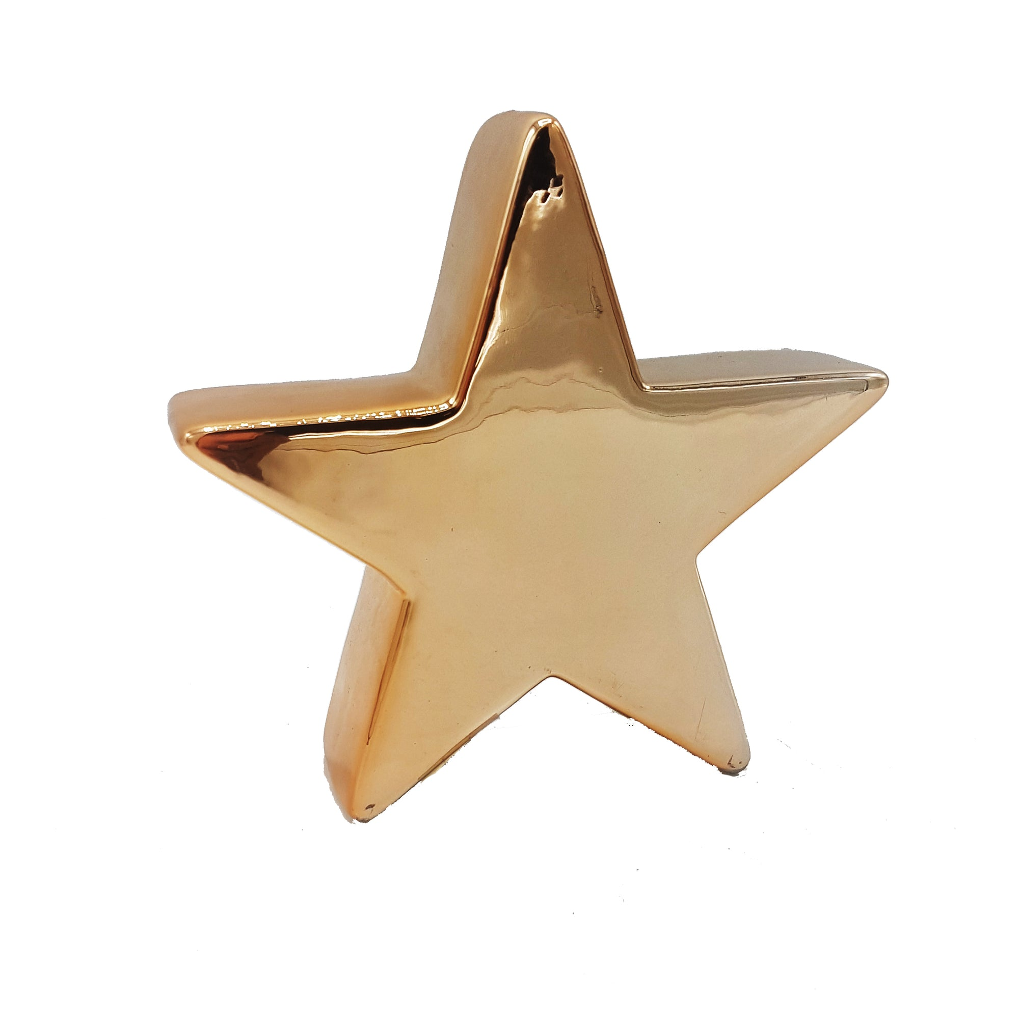 Gold Star Decor Object