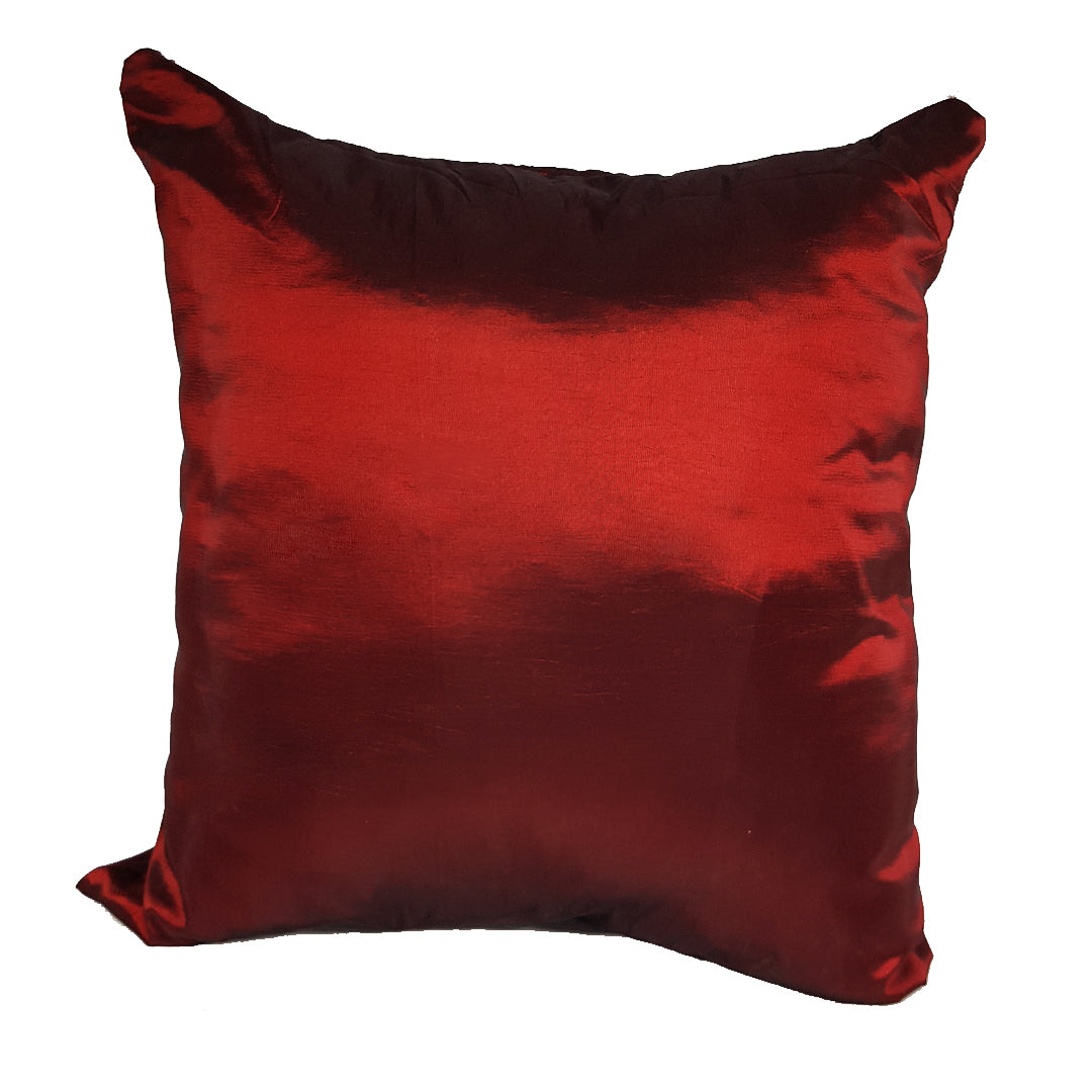 Maroon Throw Pillow Cover