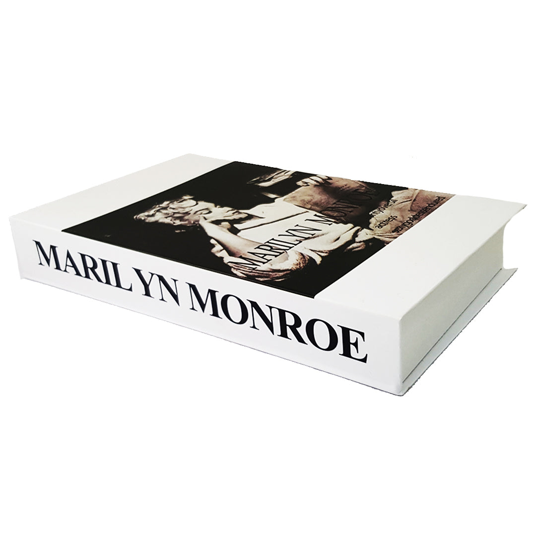 Marilyn Monroe Coffee Table Book (Faux)