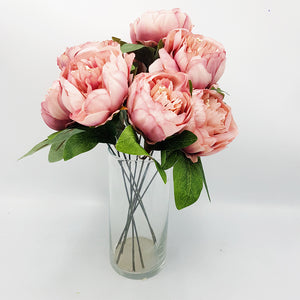 Bunch of Blush Pink Peonies
