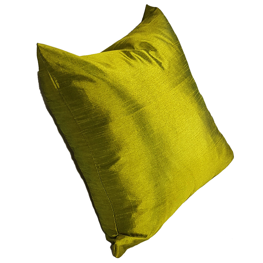 Plain Olive Green Throw Pillow Cover