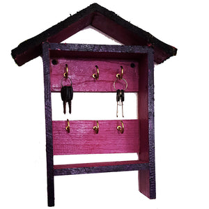 Purple Open Key Cabinet