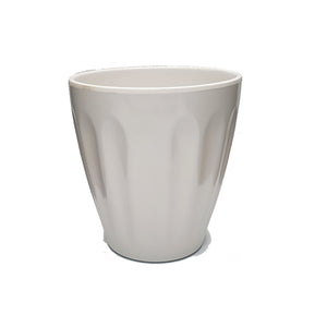 White Table Planter/Vase - 14.5cm Height