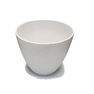 White Planter/Vase - 16cm Height