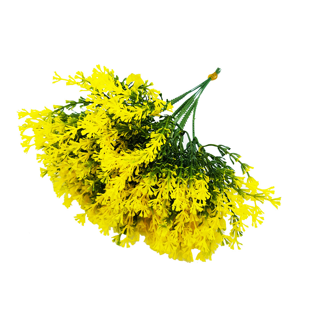 Bunch of Filler Plant with Yellow Tips
