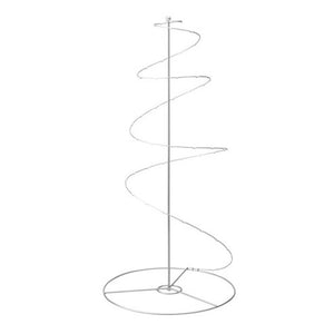 Decoration/Ornament Spiral Stand , silver-colour