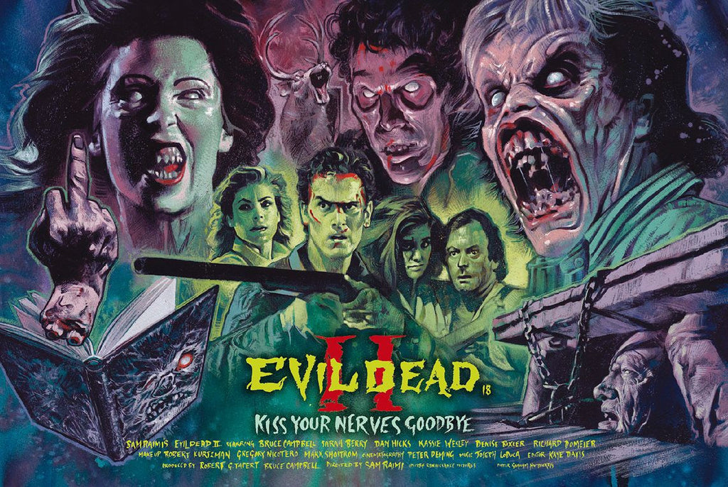 """Evil Dead 2"" by Graham Humphreys"