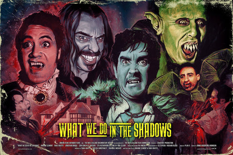 """What We Do in the Shadows"" - by Graham Humphreys"