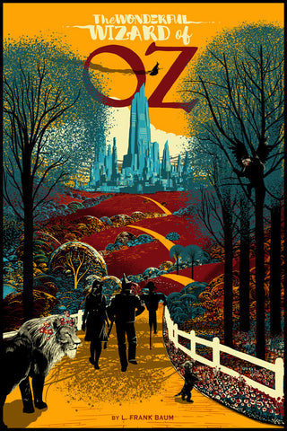 """The Wonderful wizard of Oz"" Variant by Raid71"