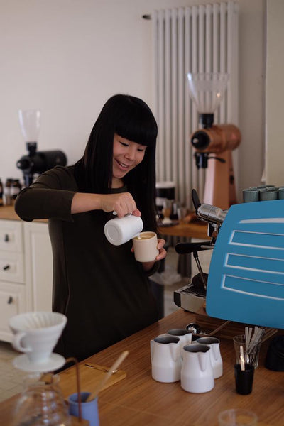 Emi Fukahori Award Winning Coffee Barista