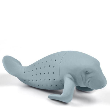 Tee-Ei in Form einer Seekuh - Manatee shaped tea infuser