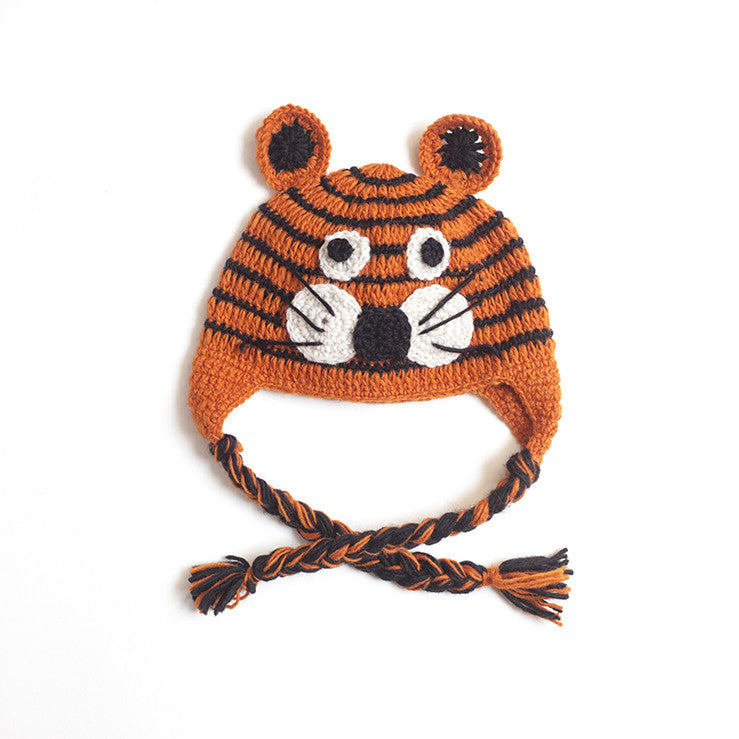 Children Tiger Earflap