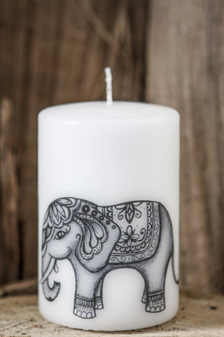 Meditation Candle: Elephant