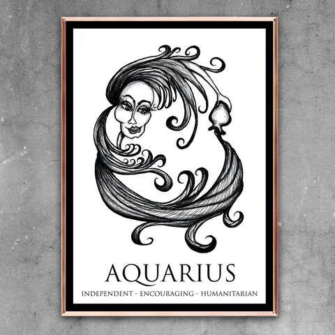 Aquarius: January 20 - February 18